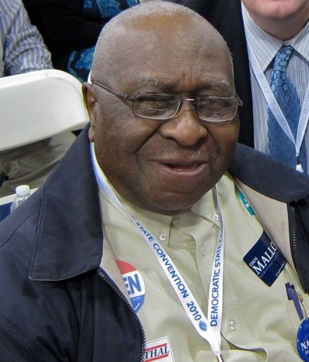 Alton Brooks at a recent Democratic State Convention