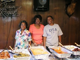 Soulfood Fest volunteers serving up good food at the 2013 event.