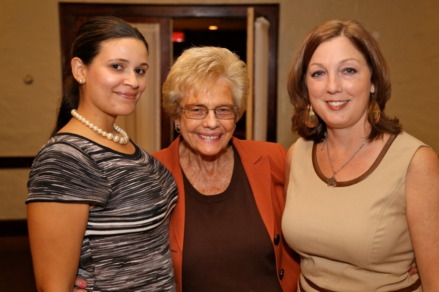 The Education Party. Democratic Board of Education candidates Daisy Sanchez, Judy Greco and Sharon Beloin-Saavedra.