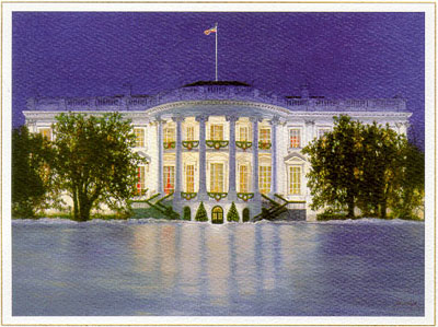 Christmas Card from the Clinton White House, 1997