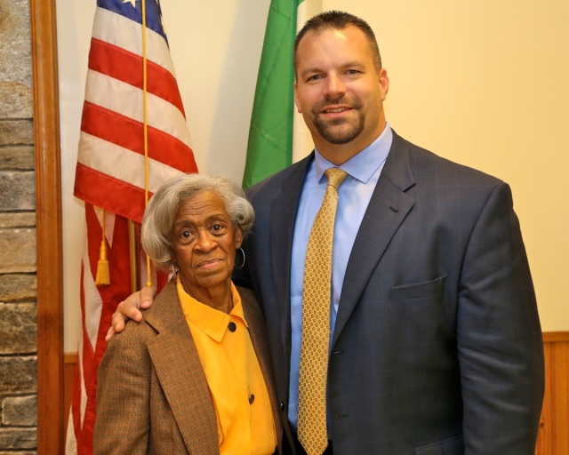 State Party Treasurer Emma Pierce of New Britain and former Berlin Mayor Adam  Salina were elected to the Democratic State Central Committee on May 1st. State Convention delegates met in Berlin to kick off a month of nominating conventions.