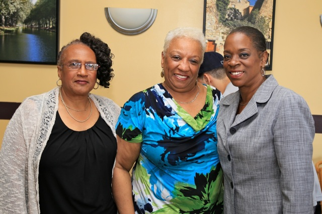 Ward 3 Alderwoman Shirley Black (left), Denise Nappier and Gerry Brown-Springer