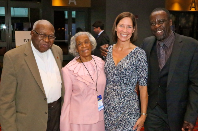 Alton Brooks, Emma Pierce, Susan McKinley Perry and Art Perry
