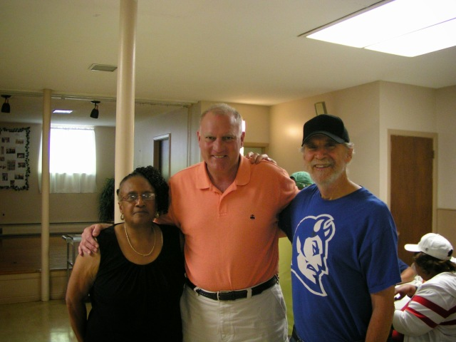 Shirley Black, Attorney General George Jepsen and DTC member Bill Shortell.