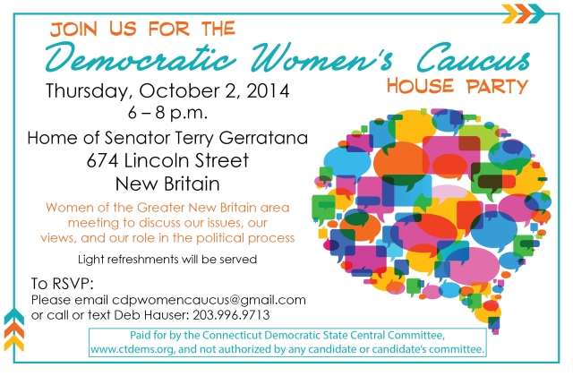 Dem Womens Caucus Evite