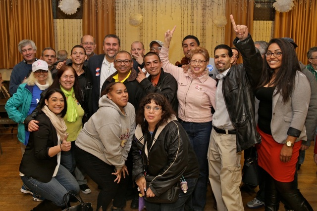 The Democratic sweep in New Britain was celebrated by candidates and volunteers on Election Night at the Pulaski Club. (F. Gerratana photo)