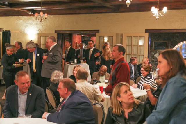 A part of the large gathering at Thursday's DTC event honoring Don DeFronzo