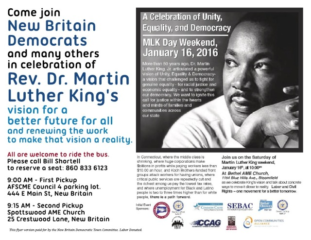 MLK Celebration of Unity Equality and Justice