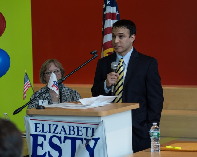 Farmington's Riju Das seconds nomination of Elizabeth Esty.