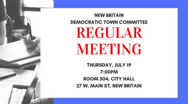 NBDTC Regular Meeting 2018-7-19